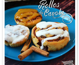 ROLLOS DE CANELA CON CHOCOLATE Y TOFFEE / CHOCOLATE AND TOFFEE CINNAMON ROLLS