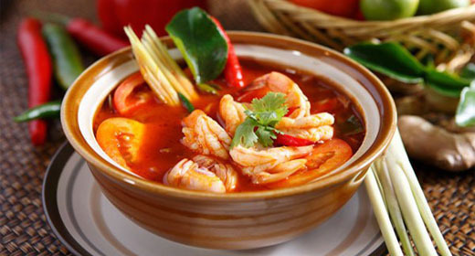 Easy Tom Yum Soup Recipe