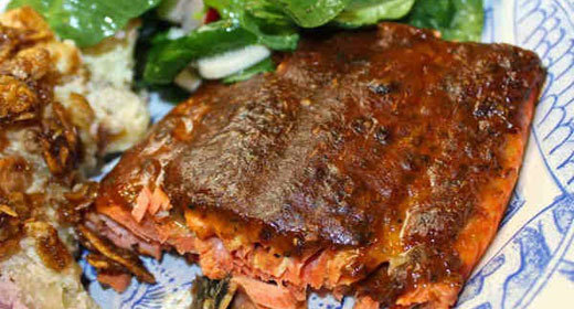 Dijon Brown Sugar Salmon Recipe