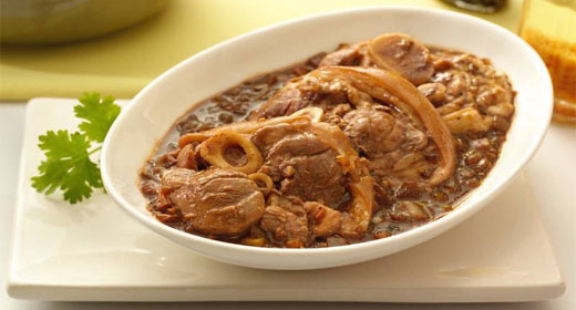 Pork Pata Adobo Sa Gata Recipe