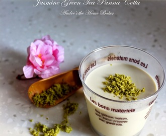 ♥ Jasmine Green Tea Panna Cotta ♥