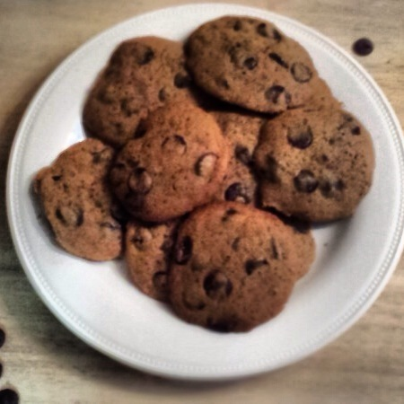 Gluten Free & Dairy Free Chocolate Chip Cookies