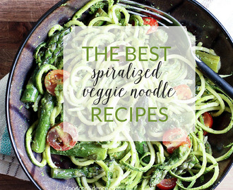 The Best Spiralized Veggie Noodle Recipes