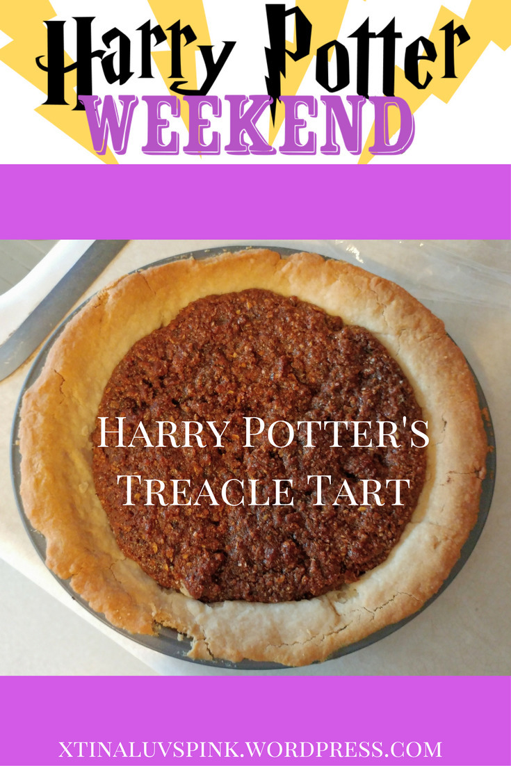 Harry Potter Weekend – Treacle Tart, Cauldron Cakes, Chocolate Frogs, Pumpkin Juice, and more!