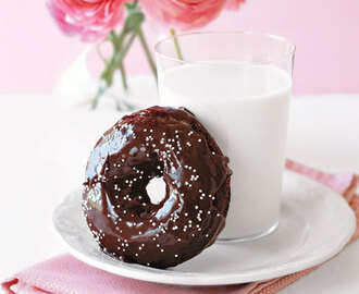 Double-Chocolate Doughnuts