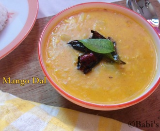 RAW MANGO DAL | SIMPLE ANDHRA RECIPE | MANGO RECIPE