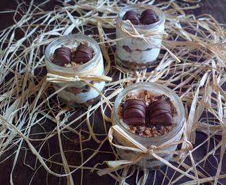 Mini Cheesecake kinder bueno in barattolo