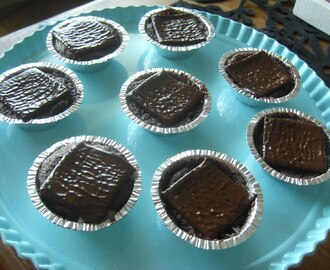 glutenfria sega chokladmuffins med after eight