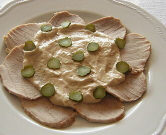 VITELLO TONNATO INGREDIENTI E PREPARAZIONE