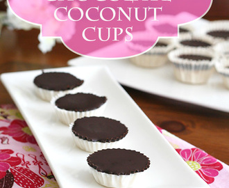 Better-Than-Mounds Chocolate Coconut Cups – Low Carb and Gluten-Free