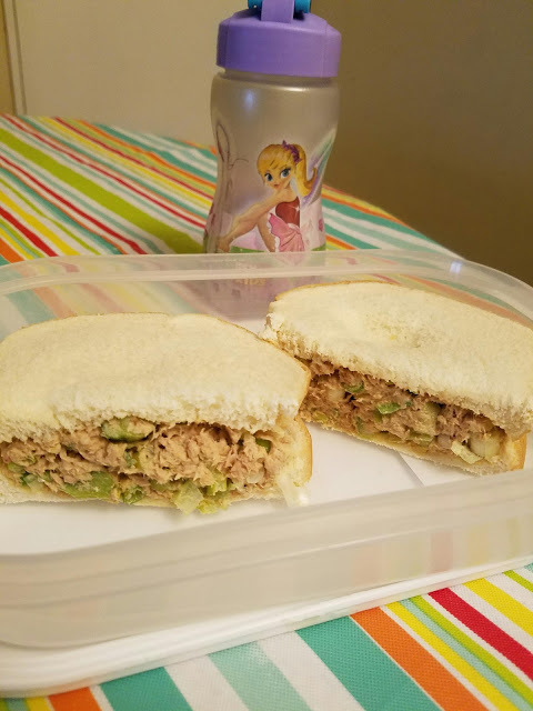 Tuna Sandwich:Great for days of extremely heat.