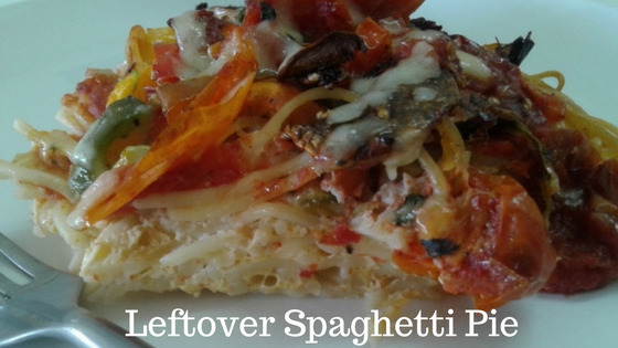 Leftover Spaghetti Pie – The Perfect Low Fat Easy to Cook Lunch