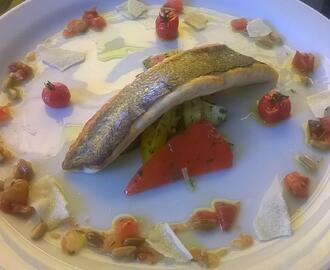 Filetto di branzino alla mediterranea
