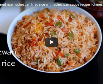 Schezwan Fried Rice Recipe Video