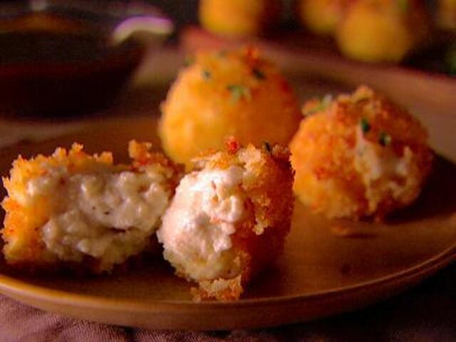 Smoked Mozzarella and Ricotta Fritters