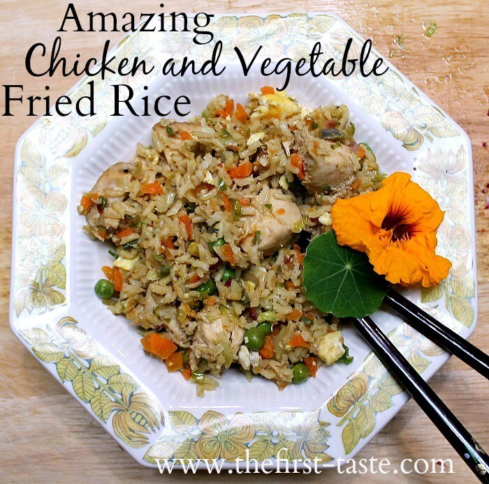 Amazing Chicken and Vegetable Fried Rice