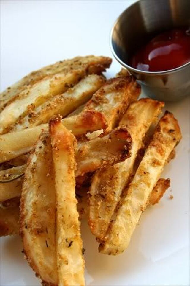 Oven Baked Parmesan Seasoned Fries