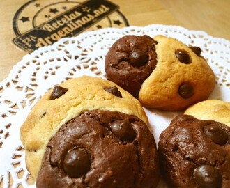Brookies ( Brownie y cookie en una galleta)