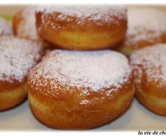 Recettes de beignet de carnaval avec levure de boulanger et creme fraiche mytaste - Recette beignet levure de boulanger ...