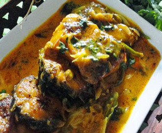 Bengali Doi Maach (Yogurt Fish Curry) Recipe