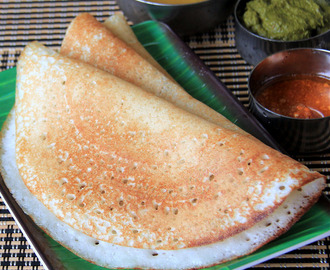 Davanagere Benne Dosa - Murmur or puffed rice dosa - Karnataka special - South Indian Breakfast Recipe - Dinner recipe