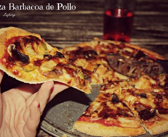 PIZZA BARBACOA DE POLLO