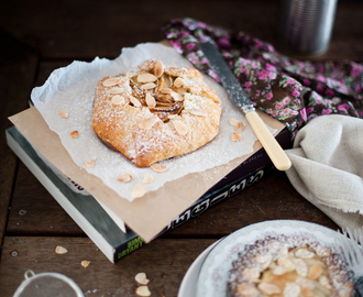 Pear and Almond Frangipane Freeform Tart
