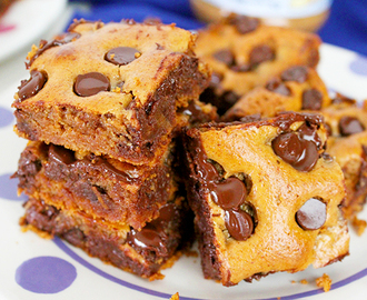 Almond Butter and Honey Blondies