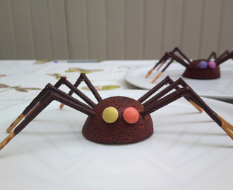 Spider brownies – dolcetti buffi per halloween