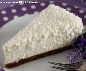 COCONUT MILK CHEESECAKE