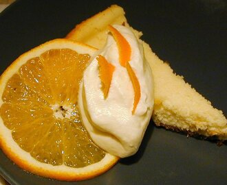 Cheesecake med citron