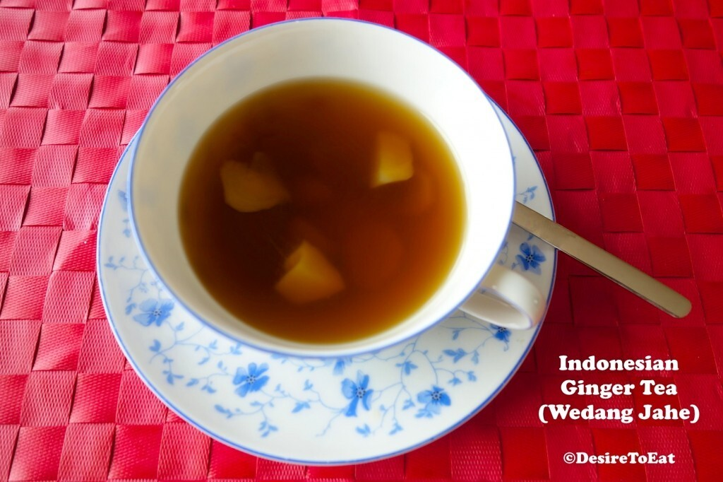 Indonesian Ginger Tea