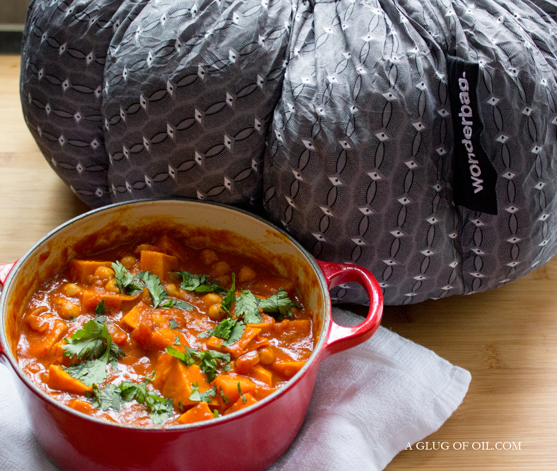 Sweet Potato and Chickpea Casserole - Wonderbag Review