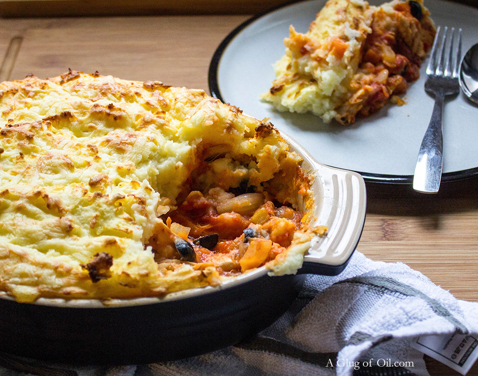 Chicken Parmentier - Great Dish for Leftover Roast Chicken