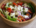 Greek-Style Salad with Potatoes
