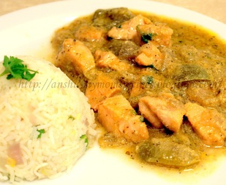Madhur Jaffrey's THAI GREEN CURRY CHICKEN