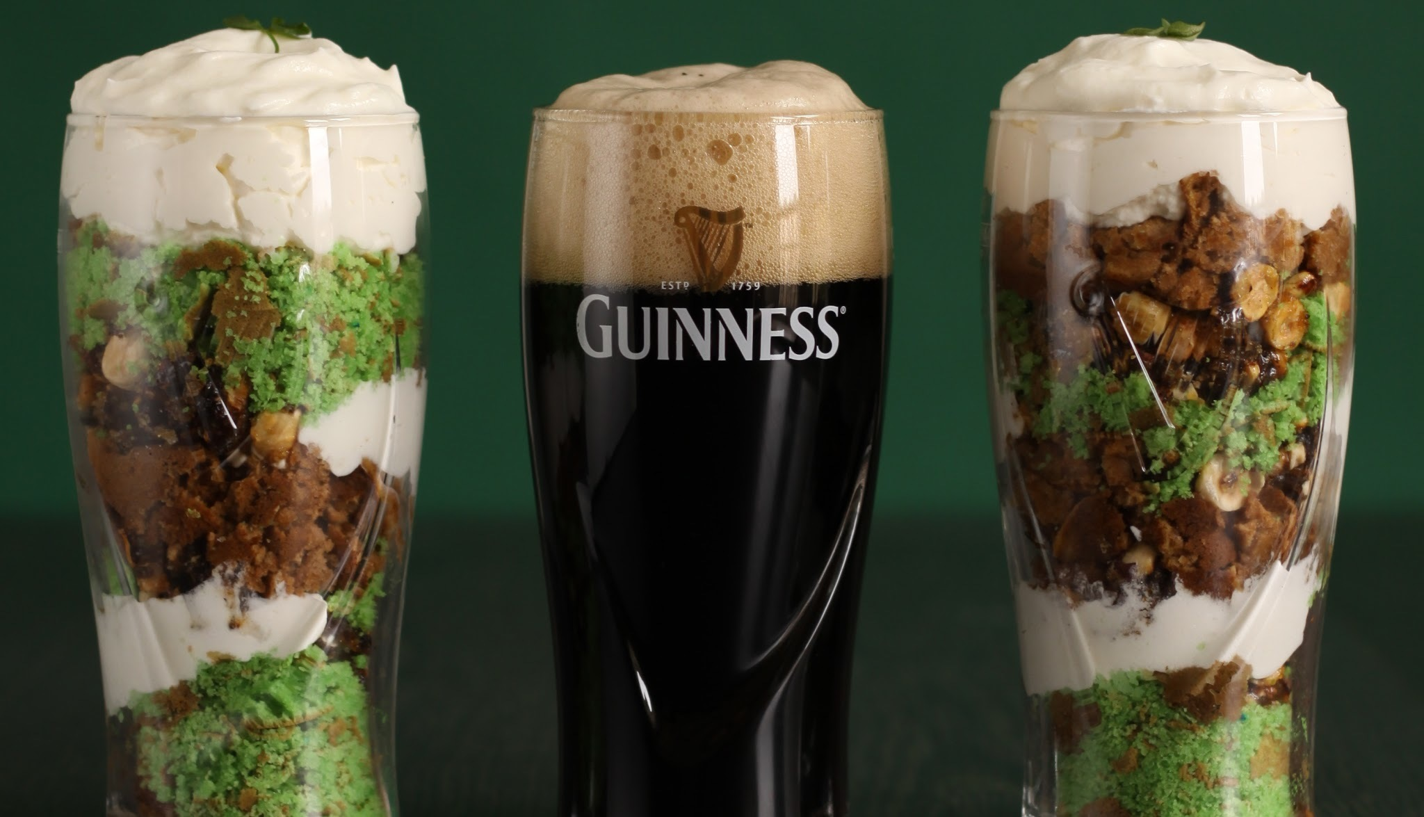 St. Patrick's Pints with Guinness Pancakes and Irish Whiskey Cream