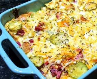 Reuben Sandwich CASSEROLE (really) - 52 Church PotLuck Main Dishes