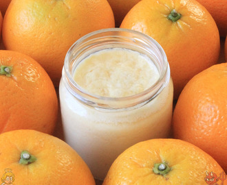 Yogurt de naranja