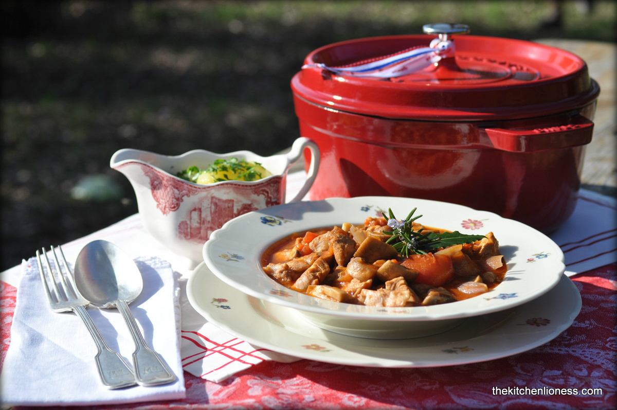 French Fridays with Dorie - Veal Marengo