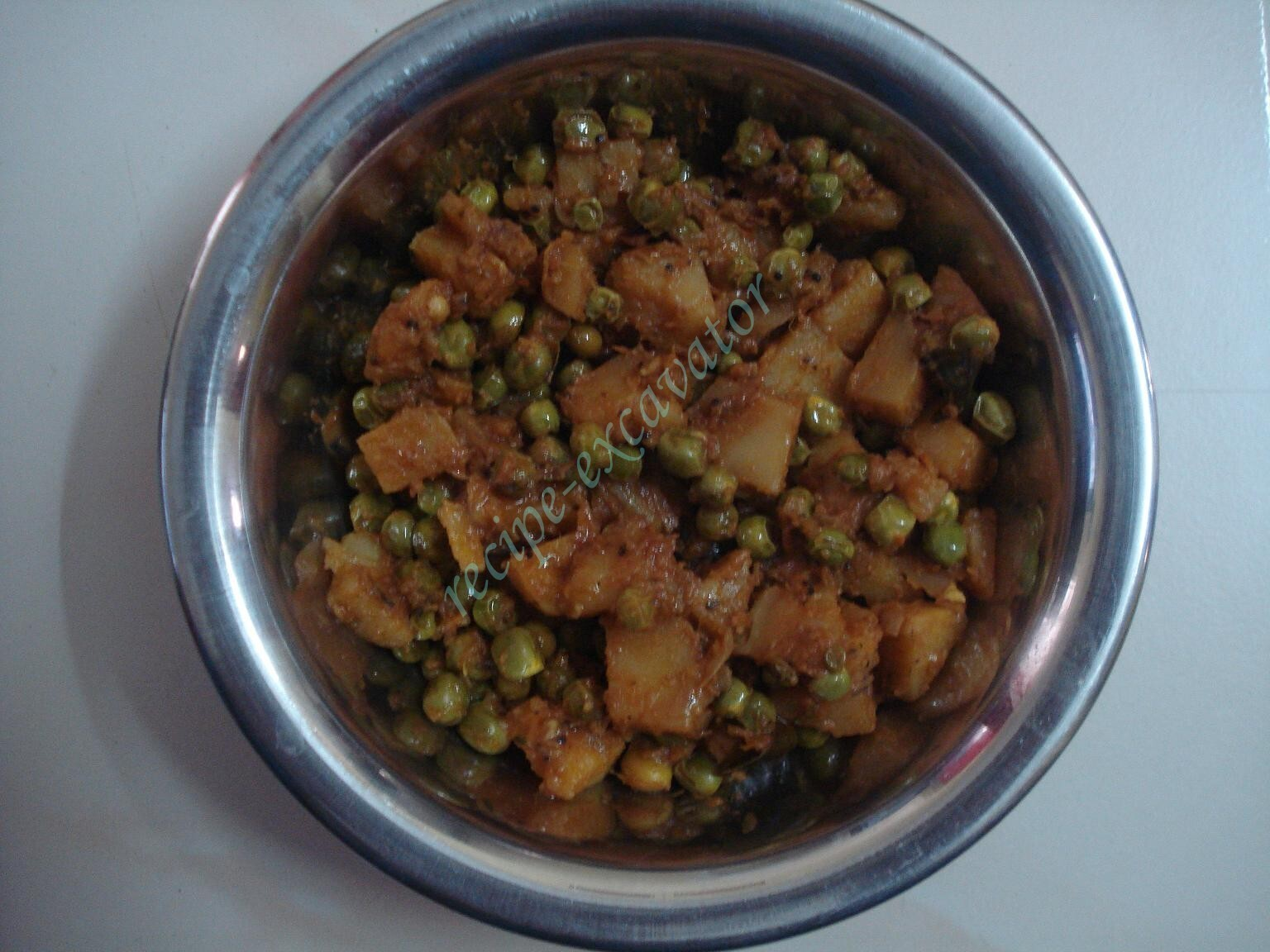 Potato Peas Fry