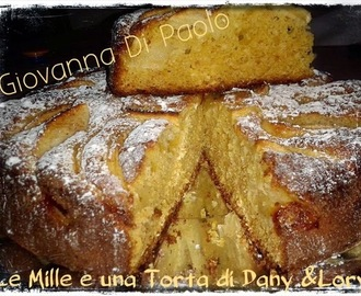 Torta light allo yogurt con mele, crusca e avena