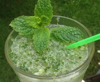 Virgin Mojito Cocktail eller Jungfulig Mojito Cocktail