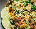 Thai Noodle Salad with Peanut Lime Dressing