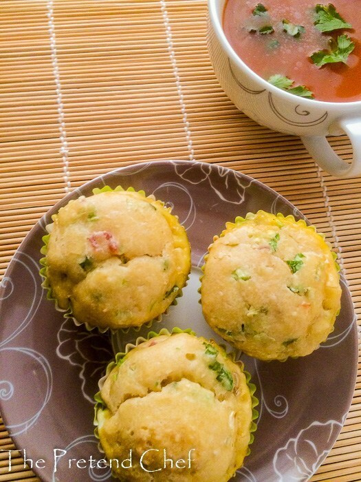 Savoury Bacon and Egg Muffins recipe
