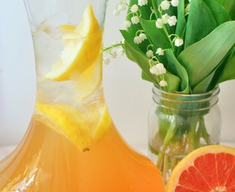 Jasmine Grapefruit Green Iced Tea
