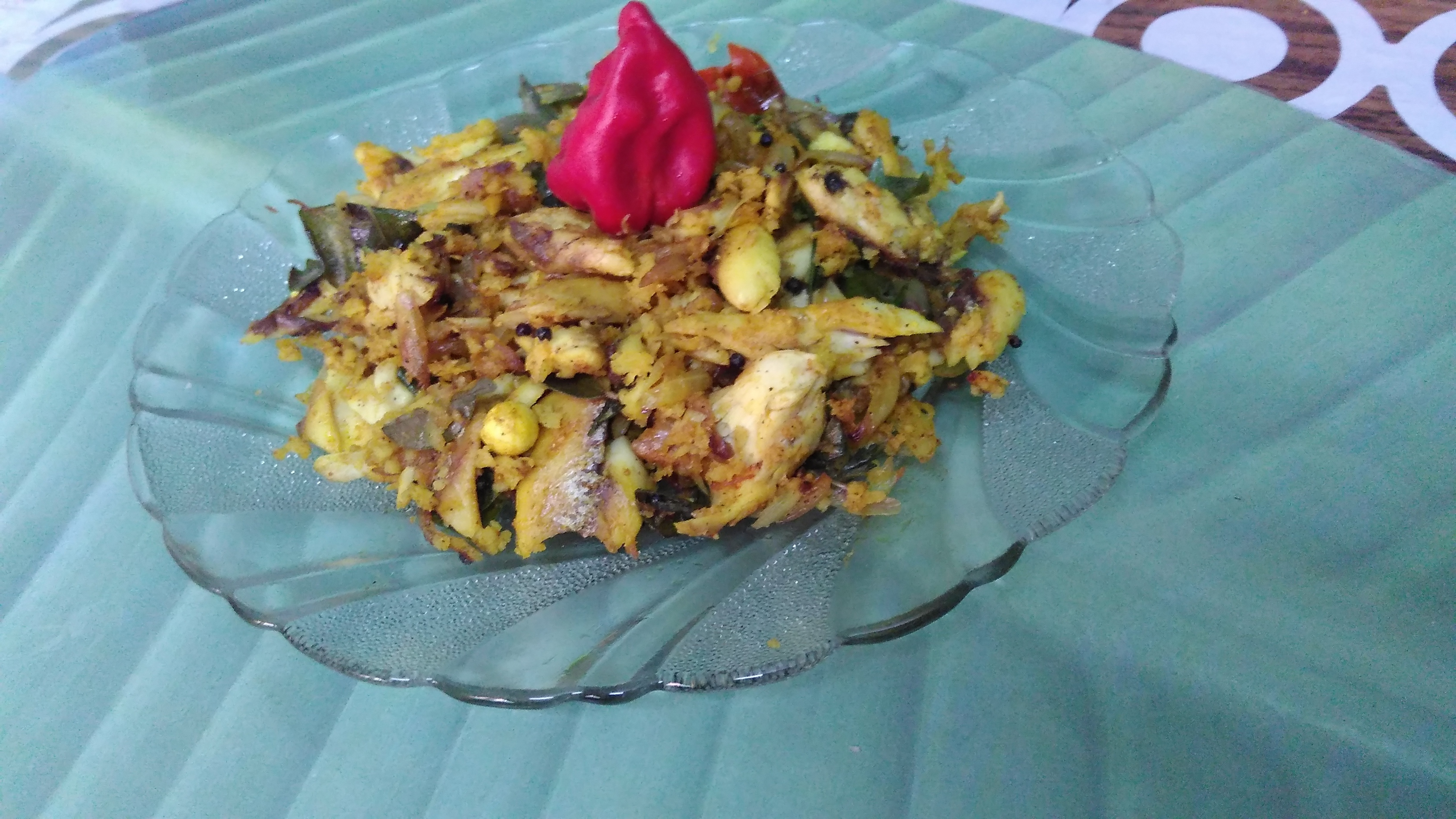 Fish Coconut Stir Fry
