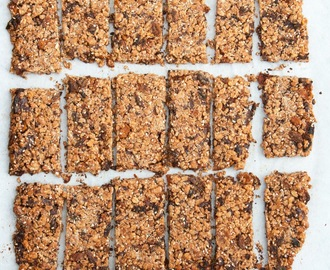 Barrette ai cereali fatte in casa / Healthy homemade snack bars