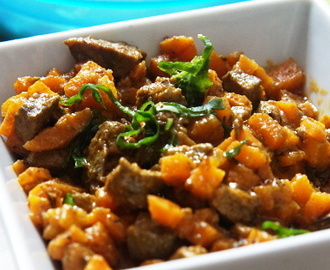 Carrot and Liver Sauce