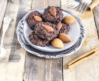 RICETTA | Cinnamon and cocoa cookies with almond (vegan)